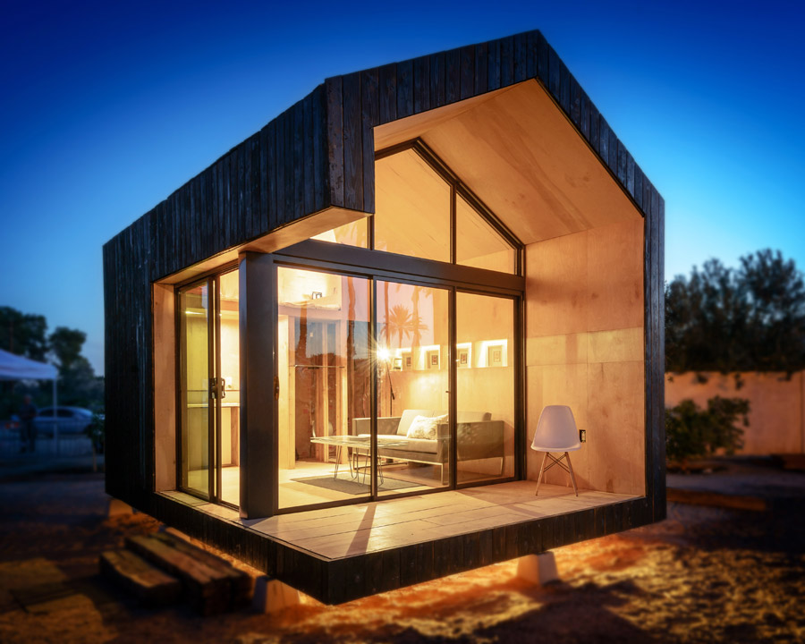 Peachy Modern Tiny Houses Theextraordinarysimplelife Largest Home Design Picture Inspirations Pitcheantrous